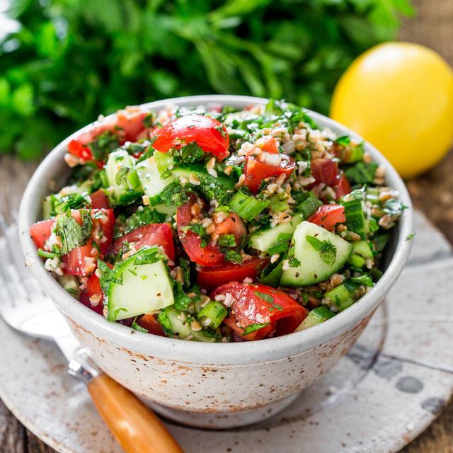 Salată în stil libanez