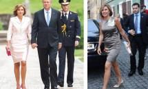 Carmen Iohannis a ţinut un discurs în locul soţului său