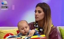 Vedetă de mic! Dominic, fiul Antoniei şi al lui Alex Velea, a apărut deja la TV!