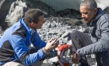 Barack Obama şi Bear Grylls, o nouă provocare