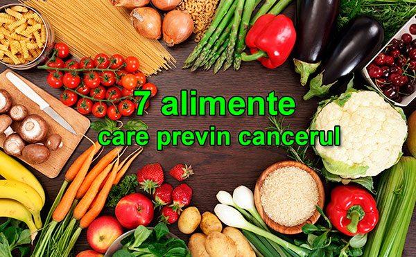 7 alimente care trebuie să le consumi săptămânal ca să previi cancerul
