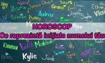 HOROSCOP: Ce reprezintă iniţiala numelui tău