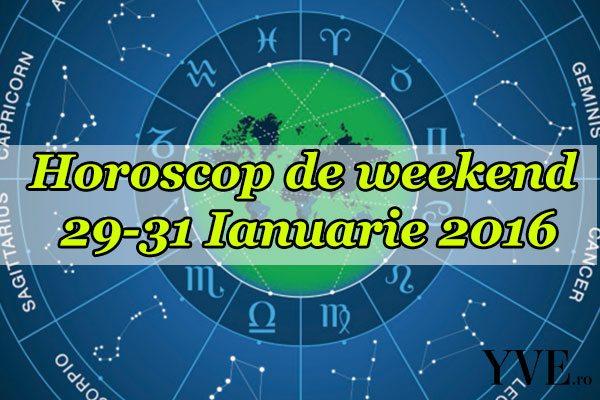 Horoscop de weekend 29-31 Ianuarie 2016