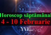 Horoscop saptamanal 4 - 10 Februarie 2019