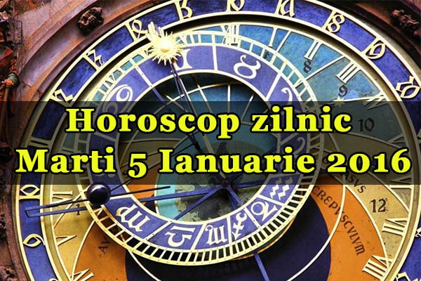 Marti 5 Ianuarie 2016