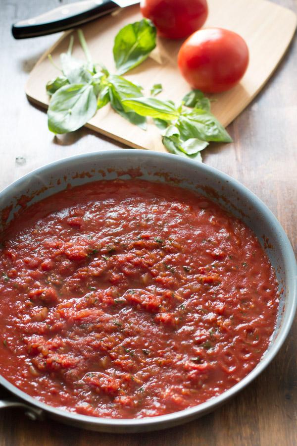 Sos de tomate preparat acasă