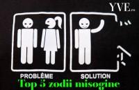 Top 5 zodii misogine