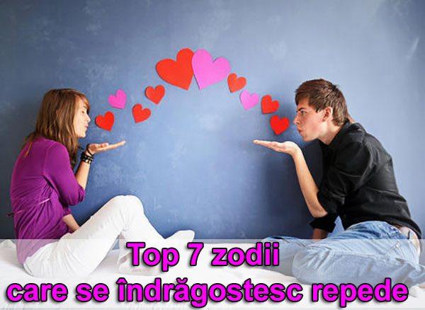 Top 7 zodii care se îndrăgostesc repede