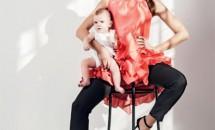 Alina Puşcaş şi fiul ei, fotografii de senzaţie!