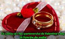 Ce cadou să-i faci partenerului de Valentine's Day în funcție de zodie