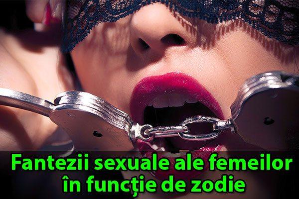 Fantezii sexuale ale femeilor în funcție de zodie