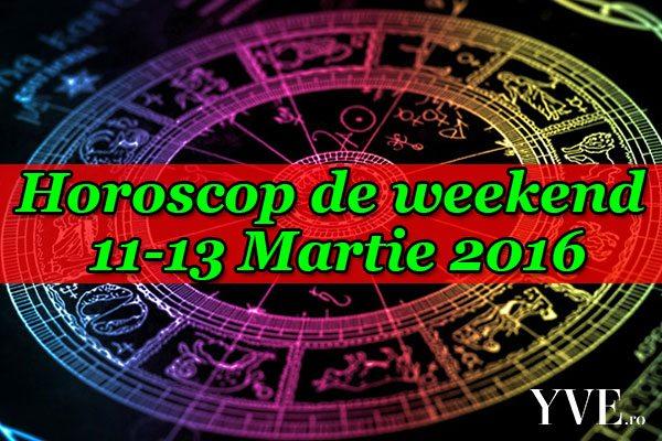Horoscop de weekend