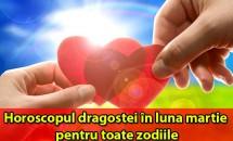 Horoscopul dragostei în luna martie pentru toate zodiile