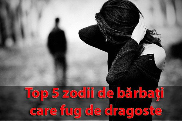 Top 5 zodii de bărbați care fug de dragoste