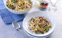 Paste cu sardine si broccoli in stil sicilian