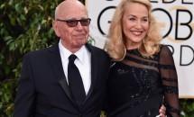 Magnatul Rupert Murdoch şi fostul fotomodel Jerry Hall s-au căsătorit!