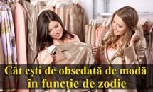 HOROSCOP: Cât ești de obsedată de modă în funcție de zodie