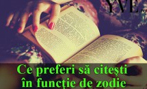 HOROSCOP: Ce preferi să citești în funcție de zodie