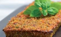 Drob din quinoa și legume