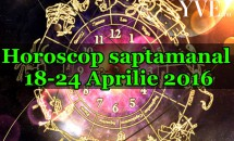 Horoscop saptamanal 18-24 Aprilie 2016