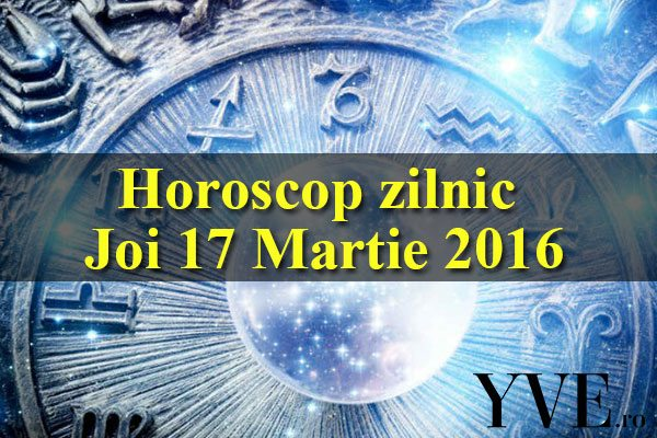 Horoscop zilnic Joi