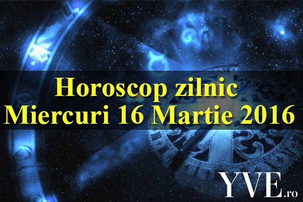 Horoscop zilnic Miercuri