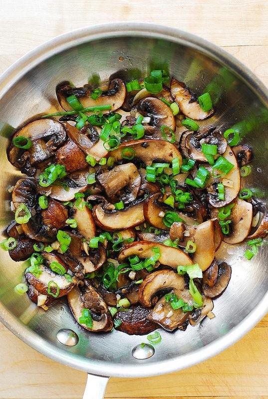 Soté de ciuperci