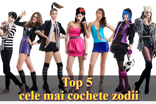 Top 5 cele mai cochete zodii