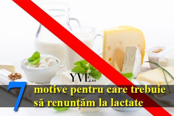 7 motive pentru care trebuie să renunțăm la lactate
