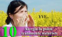 Alergia la polen – 10 tratamente naturiste
