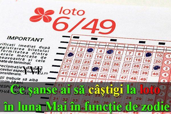 Ce șanse ai să câștigi la loto în luna Mai în funcție de zodie