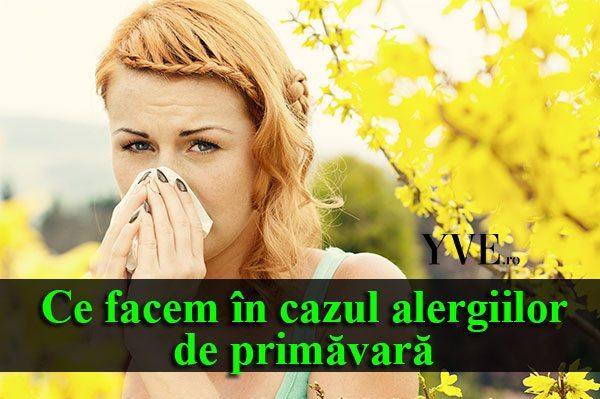 alergiilor-de-primăvară