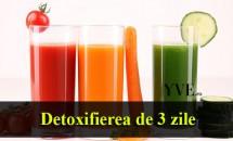 Detoxifierea de 3 zile cu sucuri de fructe și legume - plan complet
