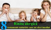 Rinita alergică – tratamente naturiste care au efect imediat
