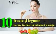 10 fructe şi legume de la care trebuie să mănânci şi coaja