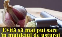 Evită să mai pui sare în mujdeiul de usturoi. Când afli misterul, cu siguranță vei evita să mai faci acest lucru!