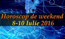 Horoscop de weekend 8-10 Iulie 2016