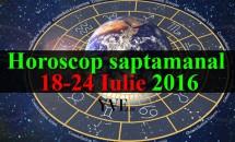 Horoscop saptamanal 18-24 Iulie 2016