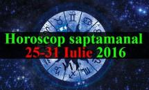 Horoscop saptamanal 25-31 Iulie 2016