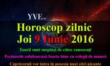 Horoscop zilnic Joi 9 Iunie 2016 - Taurii sunt surpinși de către cunoscuți, iar Capricornii vor intra în posesia unei știri picante