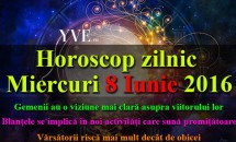 Horoscop zilnic Miercuri 8 Iunie 2016 - Gemenii au o viziune mai clară asupra viitorului lor