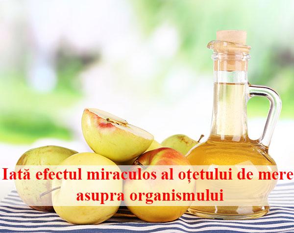 Iată efectul miraculos al oțetului de mere asupra organismului. Consumă câteva linguri și vei fi cu totul un alt om!