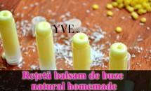 Reţetă balsam de buze natural homemade