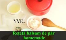 Reţetă balsam de păr homemade