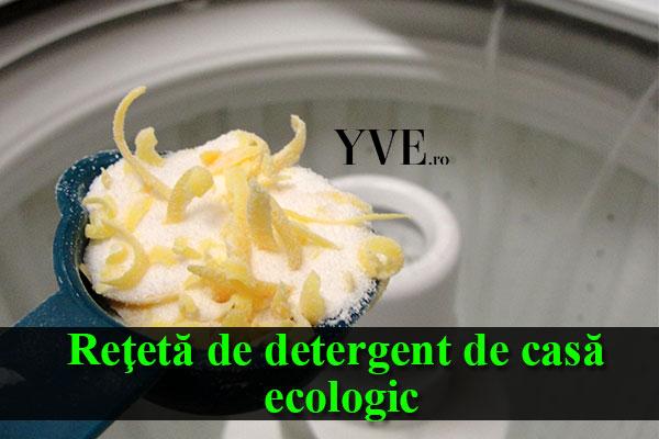 Reţetă de detergent de casă ecologic