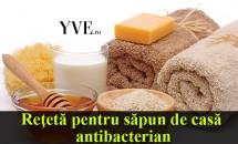 Reţetă pentru săpun de casă antibacterian