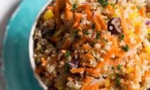 Salată de quinoa cu morcov