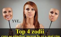 HOROSCOP: Top 4 zodii care se gândesc mereu la ce e mai rău