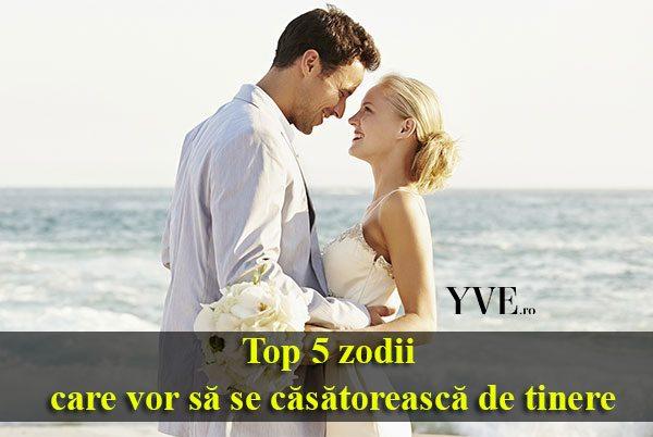 Top 5 zodii care vor să se căsătorească de tinere