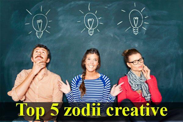 Top 5 zodii creative